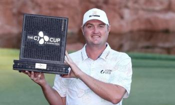 '꾸준한' 코크락, 233번째 도전 끝 PGA 투어 첫 우승