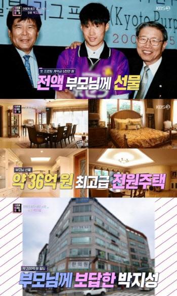 박지성, 남다른 효도 클라스…'36억 전원주택+200억 상가'