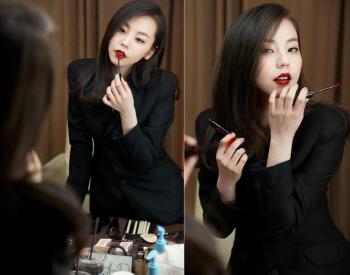 안소희, 배우 전향 후 도발적인 성숙미 과시