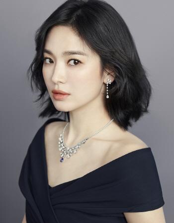 송혜교, 여신 미모