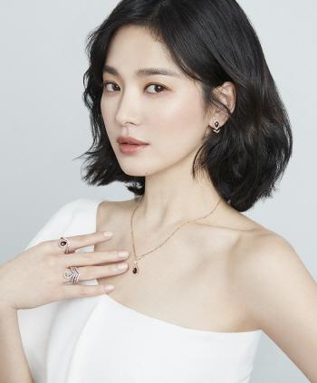 송혜교, 화보 공개 '우아함의 끝'