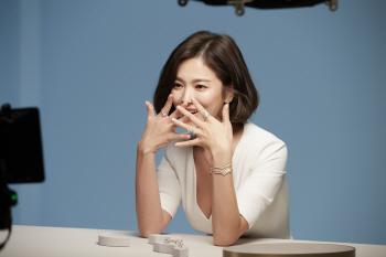 송혜교, 시선 끄는 미모