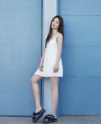송혜교, 봄의 여신
