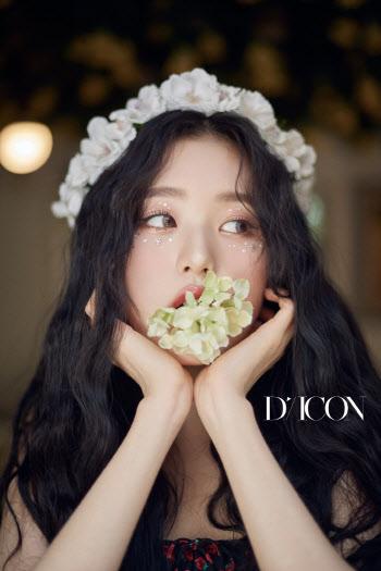 아이즈원 여름 화보…원영, 완벽 비주얼