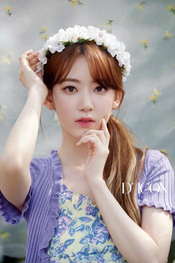 아이즈원 여름 화보…사쿠라, 청순 매력