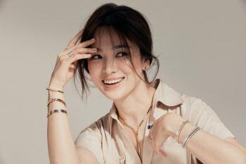 송혜교, 화사한 미소