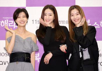유선-김사랑-윤소이 '아름다운 꽃들이 한자리에'