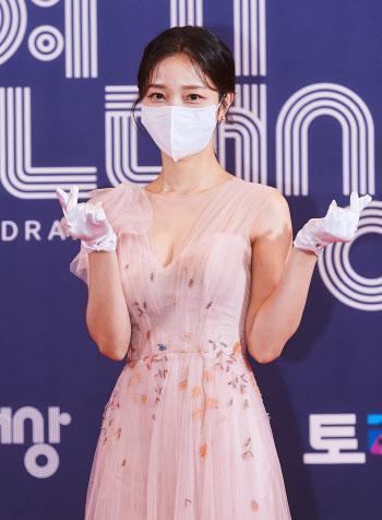 'MBC 연기대상' 김규선, 청순미