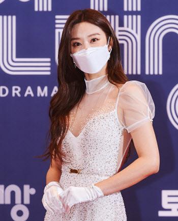 'MBC 연기대상' 이주빈, '반짝반짝'