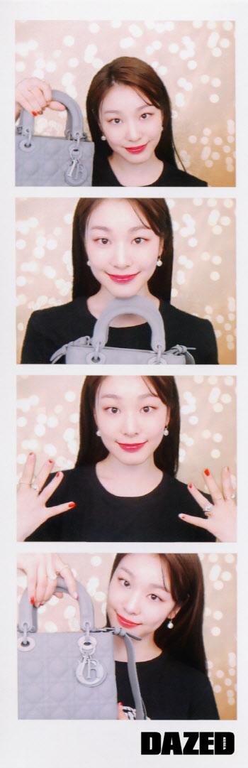 김연아, 디올백 들고 '4컷 사진'