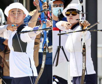[올림픽] 양궁 막내들, 사상 첫 3관왕 도전